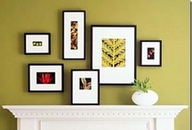 How/Where to Hang Custom Framed Art - FastFrame of LoDo - Denver, CO / A look at how and where you should hang your custom framed art! / by FastFrame of LoDo