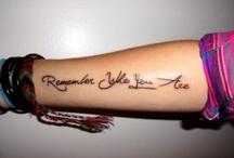 Tattoos I wish I had / by Jasmine Camarillo