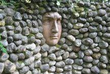 Mauern, Zäune ua Abgrenzungen | collected by Klasse im Garten / garden walls, fences etc - anything making up the border of a garden