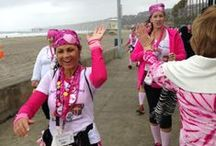 Breast Cancer Can't Stop San Diego / -Bras Across the Bay raised more than $18,000 for local breast cancer treatment and support programs.  -Race for the Cure raised more than $1.1 million for breast cancer treatment, support services and research.   -And 2,300 walkers raised more than $1.6 million during the 2013 Komen San Diego 3-Day.   Thank you for your support in our fight against breast cancer! / by CBS 8 - San Diego News