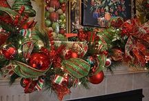 Indoor~Outdoor Christmas Tree, Garland Decor   / Christmas  / by Mary Shawn Seaborn