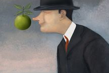 Remember Rene Magritte- cartoons / Rene Magritte - the famous Belgian Surrealist painter died 50 years ago on the 15th of August 1967. Worldwide cartoonists contributed to this Magritte gallery
