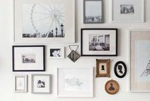 - gallery walls - / #gallerywalls #gallery #walls #inspiration