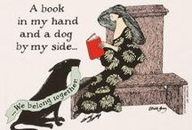 Book lovers never go to bed alone / love of books and written word, books to read or have read