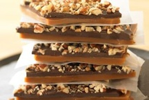 Sweet Sensational Candy / Who doesn't have a sweet tooth.  This family has a BIG one.  I've always made cookies, pies and cakes so it's time to try to make some delicious candy.  This would be great for gift giving after I sample some of it.