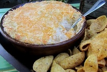 Delightful Dips / Great recipes for entertaining or just watching a football.