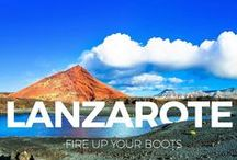 Lanzarote / Lanzarote is the perfect location for fun family holidays in self catering villas with private pools. James Villas can organise your flights and car hire too. Visit Timanfaya National Park, discover the art of Cesar Manrique and enjoy the white sands of Papagayo Beach near Playa Blanca.