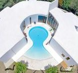 Quirky Villas & Crazy Pools / A collection of some of our quirkiest villas and crazy shaped pools.