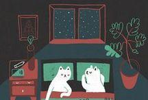 Illustration / by Natalia Sourdis