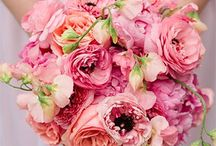 PINK Wedding Design / All shades of lovely pink wedding decor