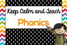 Teach {Phonics} / Teaching ideas and resources for teaching elementary phonics, phonemic awareness. Primary Kindergarten, First, Second