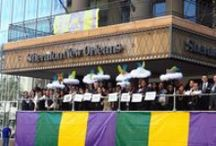 #SheratonMardiGras / Laissez les bonne temps rouler with the Krewe of Sheraton as we visually take you on a journey through Mardi Gras in New Orleans!