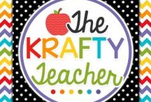 The Krafty Teacher / Products for elementary teachers to help them create fun and engaging reading, ELA, math, science and social studies lessons. Tried and true resources that will have students learning and having fun. https://www.teacherspayteachers.com/Store/The-Krafty-Teacher