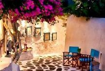 Greece / The beautiful mainland and its islands scattered throughout the Aegean and Ionian Seas tempt holidaymakers back to villas in Greece time and time again with their idyllic climate and postcard-perfect landscapes of olive-clad hills, stunning beaches, secluded coves and turquoise seas.