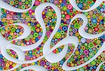 Twisted Paper / All forms of quilling