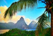 St Lucia / St Lucia in the Caribbean is one of the world's dream holiday destinations with plenty to see and do, to eat and drink and to discover.