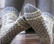 Stricken: Socken / Inspirationen, Strickanleitungen und Muster für kuschelig warme Wollsocken