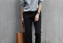 Fashion: Sweater Outfits / Outfits mit Pullover, Sweatshirt
