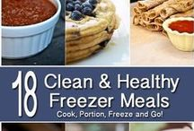 Recipes: Freezer Meals / by Kimberly Shankland
