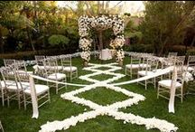 Chuppahs + Arches / beautiful chuppah and arches for your ceremony