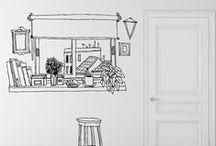 Hogar ::: Home / Vinilos para toda la casa ::: Wall stickers for all the house