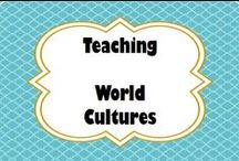 Teaching - World Cultures / Social Studies, World Cultures, Middle School, Culture, Geography, History, Government / by Michele Jackson