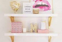 Inspirációk az irodához / Office inspiration / Inspirációk és konkrét tárgyak gyűjteménye az irodánk átalaktásához.
