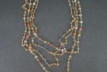 Hand Wired Jewelry / Hand wired gemstone jewelry designed and made by llyn strong.