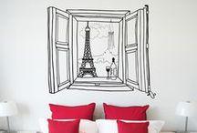 ::Guía regalos:: ¡París! / Vinilos inspirados en Paris