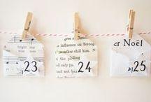 Proyectos DIY calendario de adviento / Y de pronto… ¡es Navidad! Llego el momento de preparar el calendario de adviento. Toma nota de estas 10 ideas DIY aptas para manitas y manazas