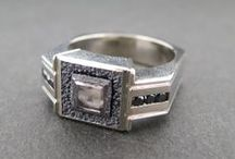 Gents' Rings / Men appreciate well designed and handcrafted jewelry too!