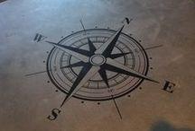 Stencil Floor / Não é piso, tapete ou carpete - o stencil floor é uma pintura que faz toda a diferença no piso da casa