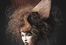 Hair Design / Editorial, Avant Garde, Hair Design, Out-of-the-Box Hair Styles, High Fashion Hair / by Alter Ego Makeup