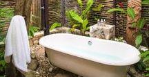 Banheiros e Banheiras / Um compilado de banheiros de tirar o fôlego ao redor do mundo