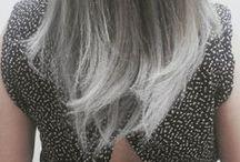 Cabelos Coloridos / Para quem gosta de cabelos com cores exóticas, como cinza platinado e verde musgo