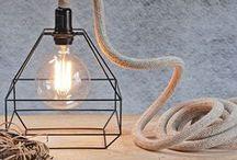 Draadlampen trend / De leukste lampen op het internet en allerlei inspiratie om de draadlamp in jouw interieur te verwerken.