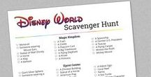 Disney Bucket Lists, Challenges & Scavenger Hunts / Disney bucket list ideas, challenges, and scavenger hunts to help you find things to do during your next Disney vacation.