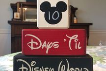 Disney Vacation Countdown Ideas / Count down to your family's next Disney vacation with these fun ideas.
