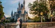 Disney Fairy Tale Wedding Tips / Tips and tricks to plan a Disney Destination fairytale wedding filled with magic and memories.