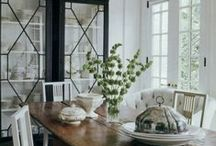 Dining Rooms / beautiful, elegant dining rooms in traditional, neo-traditional, modern-traditional styles