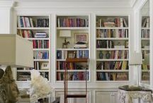 Libraries / elegant libraries, dens, sitting rooms, reading rooms, offices, quiet retreat, home libraries