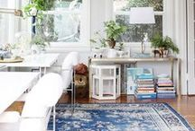 work/home office spaces / These days, so many of us are working from home, including me! I believe that a home work space should be just as nice and charming as the other living areas of the home.