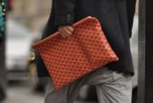 Men's Bag Inspiration / Inspiration on how to accessorise your outfits with the best of men's bags.  / by Sam Brady