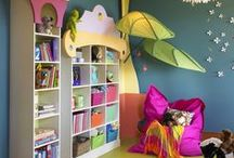 Playrooms / We love playrooms for 0-5 year olds. Playrooms include toys, dress-up, crafts, books and space to play!