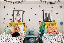 Kids Rooms / Ready to move out of the nursery? We love everything about cute kids rooms.