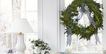 holiday decorating / Christmas and holiday decorating