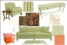 inspiration (mood) boards / presentation or mood boards for clients