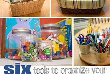Homeschool K-1st Grade / Homeschool teaching, organizing and resource ideas