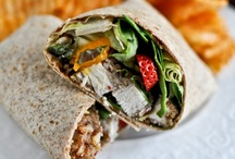 sandwiches & wraps / by Kristin Wilson