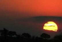 Sunrises and sunsets at Kruger national Park